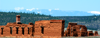 Fort Union on the Santa Fe Trail