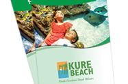 Official Kure Beach 2018 Visitors Guide cover