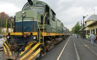 Adirondack Scenic Railroad in Thendara