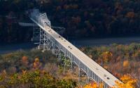 View of Rip Van Winkle Bridge from Olana State Historical Site