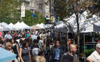 Green Market Day at Union Square Park