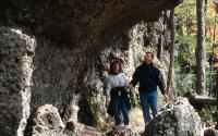 Hiking along the North - South Lake Escarpment 1119