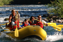 River Rafting the McKenzie River with TnT