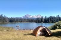Scott Lake Camping by Wyatt Pace