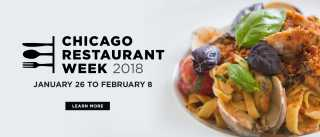 Chicago Restaurant Week 2018