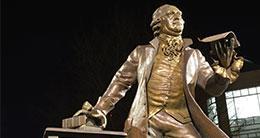 george mason statue george mason university
