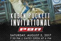 Koben Puckett Invitational Poster For 2017