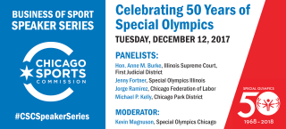 CSC Speaker Series: Celebrating 50 Years of Special Olympics