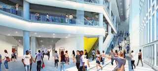 mcCormick square event center rendering