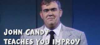 John Candy Teaches You Improv Comedy