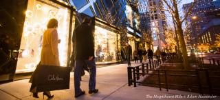 MAP & GUIDE TO MAGNIFICENT MILE HOLIDAY SHOPPING