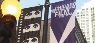 Chicago International Film Festival banners