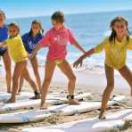 Surf lessons with the Tony Silvagni Surf School