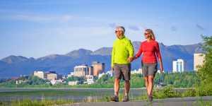 Tony Knowles Coastal trail walking trip