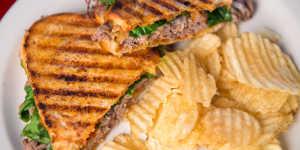 Midnight Sun Cafe sandwich Anchorage dining