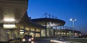 Anchorage airport evening departure level