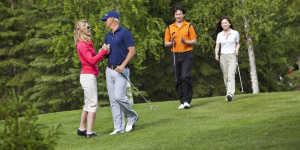 Anchorage Golf Course couples