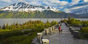 Scenic drives near Anchorage