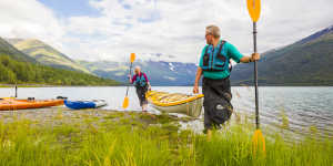 Kayaking and canoeing tours near Anchorage