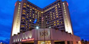 Sheraton Hotel building exterior