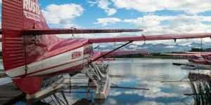 Sightseeing flights from Lake Hood in Anchorage