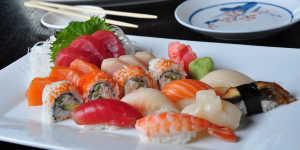 Sushi at Anchorage restaurant