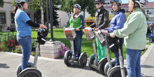 Day tours of downtown Anchorage by Segway