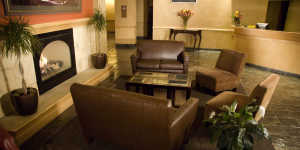 Westmark Anchorage Hotel lobby places to stay