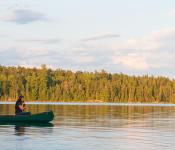 Morning Canoe, Falcon Trails Resort