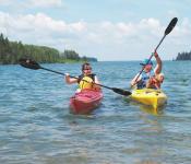 Kayaking in Riding Mountain National Park