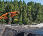 Kayak Portage, Whiteshell Provincial Park