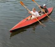 Canoeing at Half Moon Lake