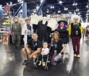 2017 Celebrating Mother's Day at Comicpalooza