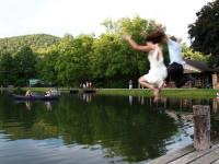 Wedding at a Lake