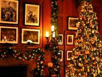 Christmas at Biltmore Billiards Room