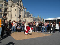 Bboy Santa at Biltmore