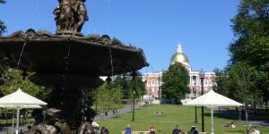 Boston Common - Fountain