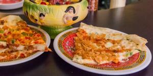 Fong's Crab Rangoon Pizza