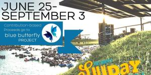 Sunday Funday Panther Island Pavilion June 25-September 3