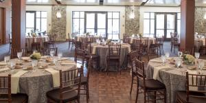 Bluestone Room at Heritage Sandy Spring is a great event space for receptions and banquet