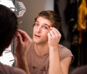 Nutcracker: Dancer Applying Makeup