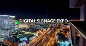 Digital Signage Expo at Las Vegas Convention Center, March 2017