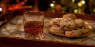 A Bourbon Treat for Santa