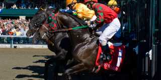 Breaking from the Gate at Keeneland