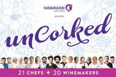 "HFWF Hawaiian Airlines Presents ""Uncorked"""