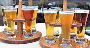 Sweetwater Tavern Centreville beer flight