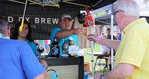 Workhouse Brewfest booth