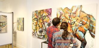 Friday Night Gallery Stroll