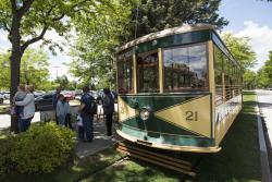 Birney Car Trolley