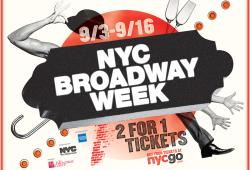 NYC Broadway Week Creative